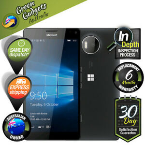 Nokia-Microsoft-Lumia-950-XL-Black-32GB-4G-LTE-Factory-Unlocked-Smartphone