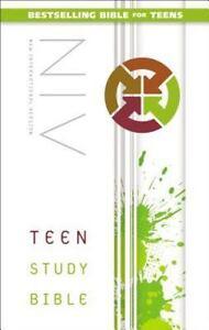 Teen-Study-Bible-Niv-2014-Hardcover-Revised