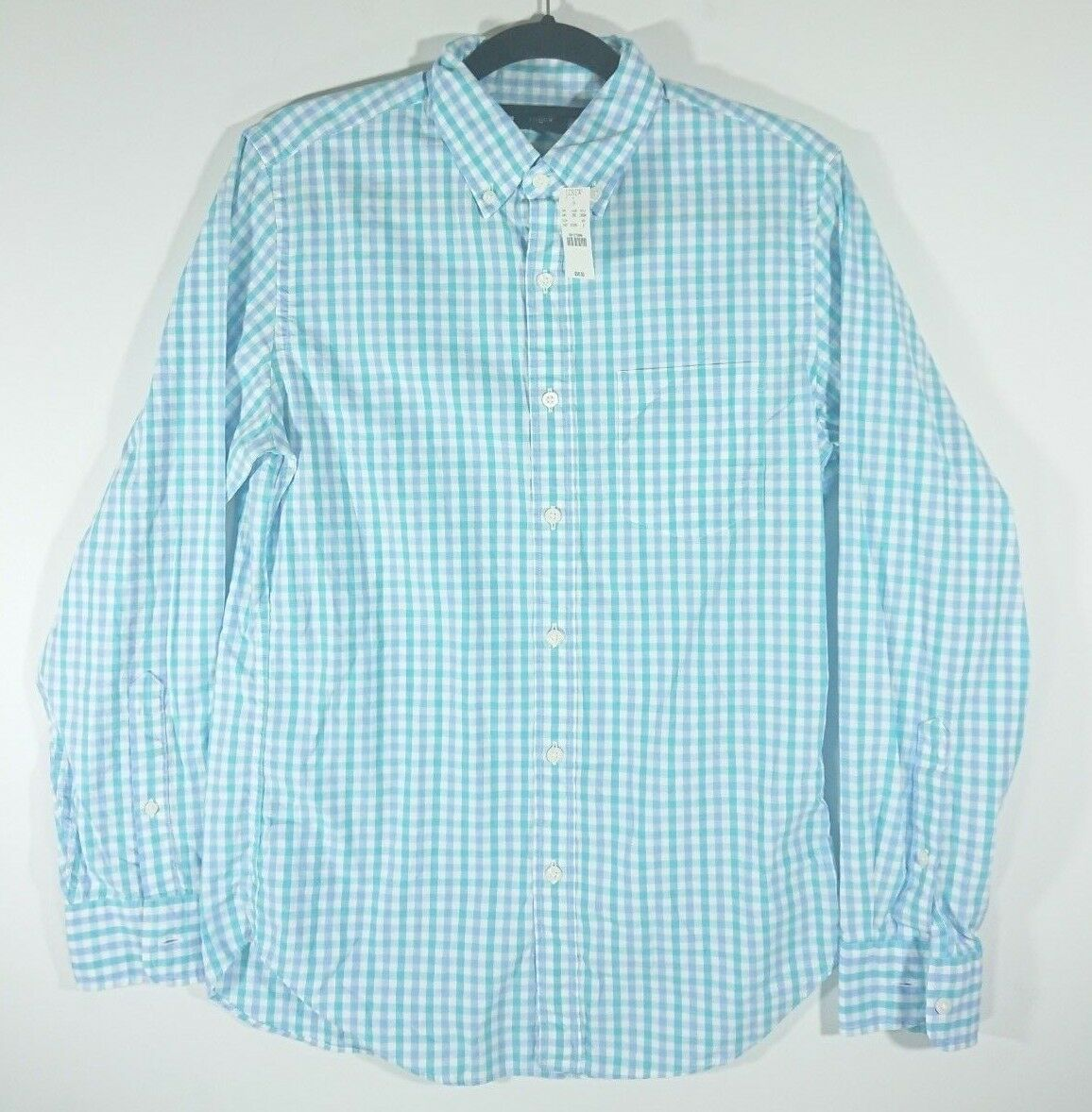 NWT J Crew Men's Small Long Sleeve Button Down Shirt MSRP
