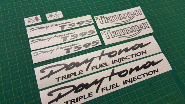 x2 Triumph Norton Logo Sticker Tank Decal Bike Racing Motorcycle AnyColour