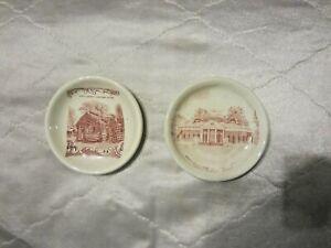 2-Jonroth-Adams-Abraham-Lincoln-amp-Monticello-Jefferson-Transferware-Butter-Pats