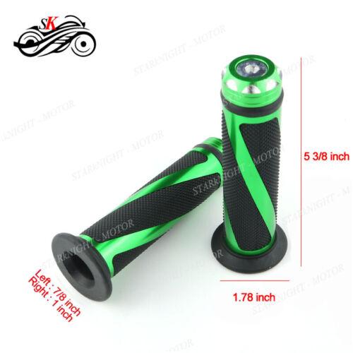 Extend CNC Brake Clutch Lever And Grip For Kawasaki NINJA 250R 08-15 Black Green