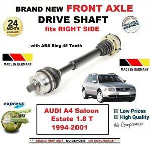 Pour-Audi-A4-Berline-Break-1-8-T-1994-2001-Tout-Neuf-Essieu-avant-Droit-Arbre