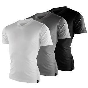 Dickies-Cuello-en-V-MC-MULTIPACK-210204-Camisetas-de-hombre-Set-Paquete-3-NUEVO