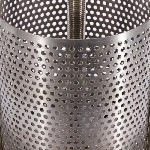 Stainless Steel Household Manual Honey Wax Press Beekeeping Presser Tool Machine