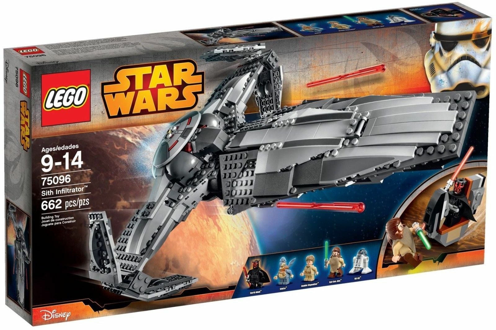 LEGO Star Wars Wars Wars 75096 Sith Infiltrator ToysRUs Exclusive Episode 1 Phantom Menace 39886c