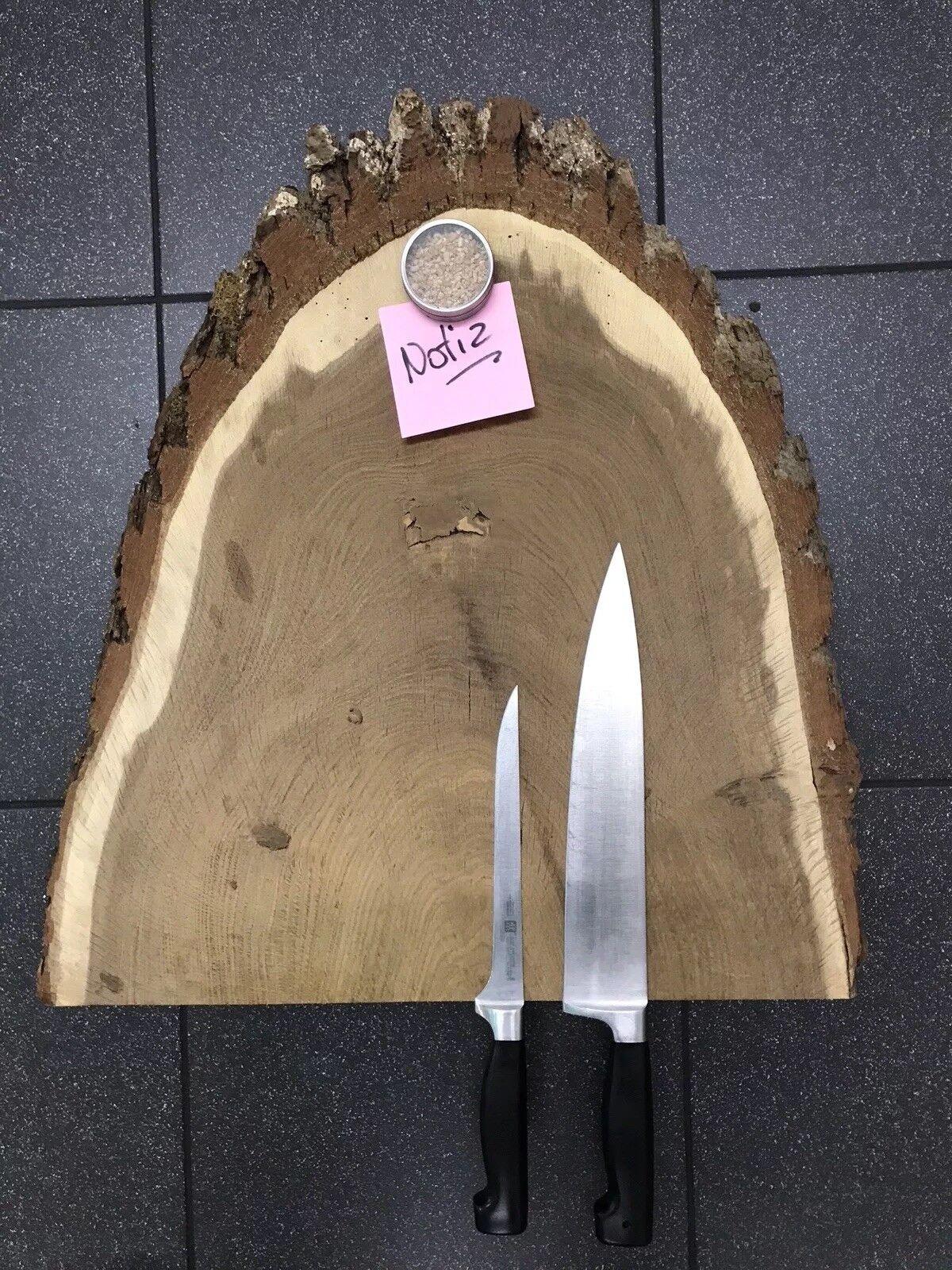 Magnetisches Messerbrett   Messerleiste aus Räuchereiche, für 6 Messer