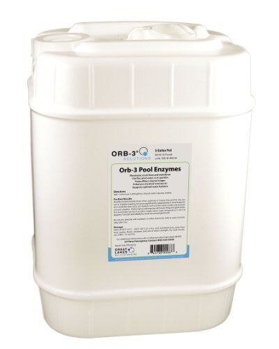 NEW Orb3 F8390005G Pool Enzymes for Maintenance, 5Gallon Pail FREE2DAYSHIP