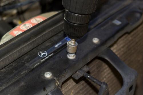 14PC QUICK-CHANGE POWER NUT CHROME STEEL HEX SHANK DRIVER DRILL BIT SET