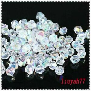 Loose-DIY-Jewelry-2-3-4mm-Bicone-5301-Crystal-1000pcs-making-beads