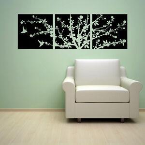 CHERRY-BLOSSOMS-FLOWER-TREE-HUMMINGBIRDS-VINYL-WALL-DECAL-STICKER-ART-HOME-DECOR