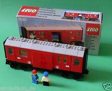 Lego Eisenbahn - Postwagen Nr. 7820 mit Legokarton