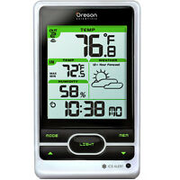 Oregon Scientific Wireless Remote Weather Forecasting Station With Atomic Clock