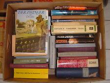 Große Kiste Bücher, Bananenkiste, für Leseratten ca. 30 Stück, 13