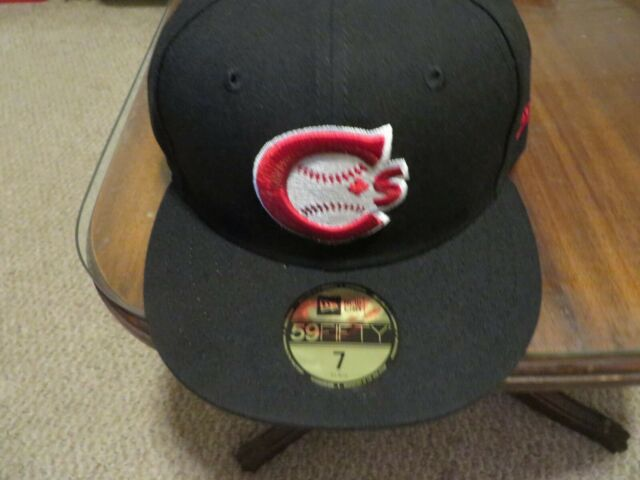 Vancouver Canadians New Era Authentic 59FIFTY Fitted Hat Black