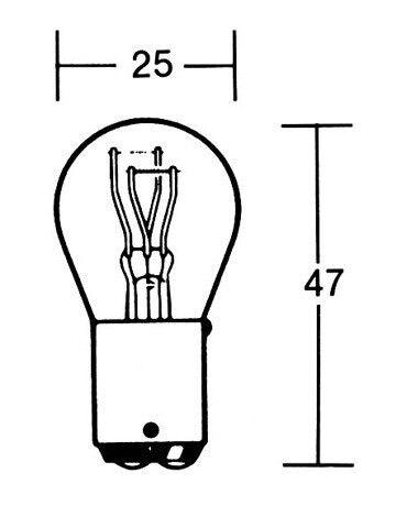 PW 209-130 p21//5w avec E-Contrôle Ampoule 6 V 21//5w bay15d