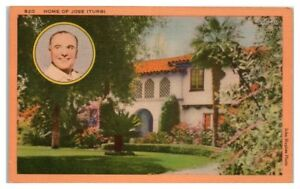 Home-of-Jose-Iturbi-Southern-California-Postcard
