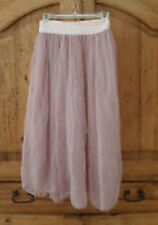 Free People Pink Maxi Skirt