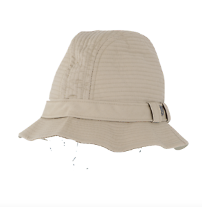 Vintage-80s-Trav-039-ler-by-Country-Gentleman-Outdoor-Trilby-Cap-Hat-Khaki-7-1-4-USA