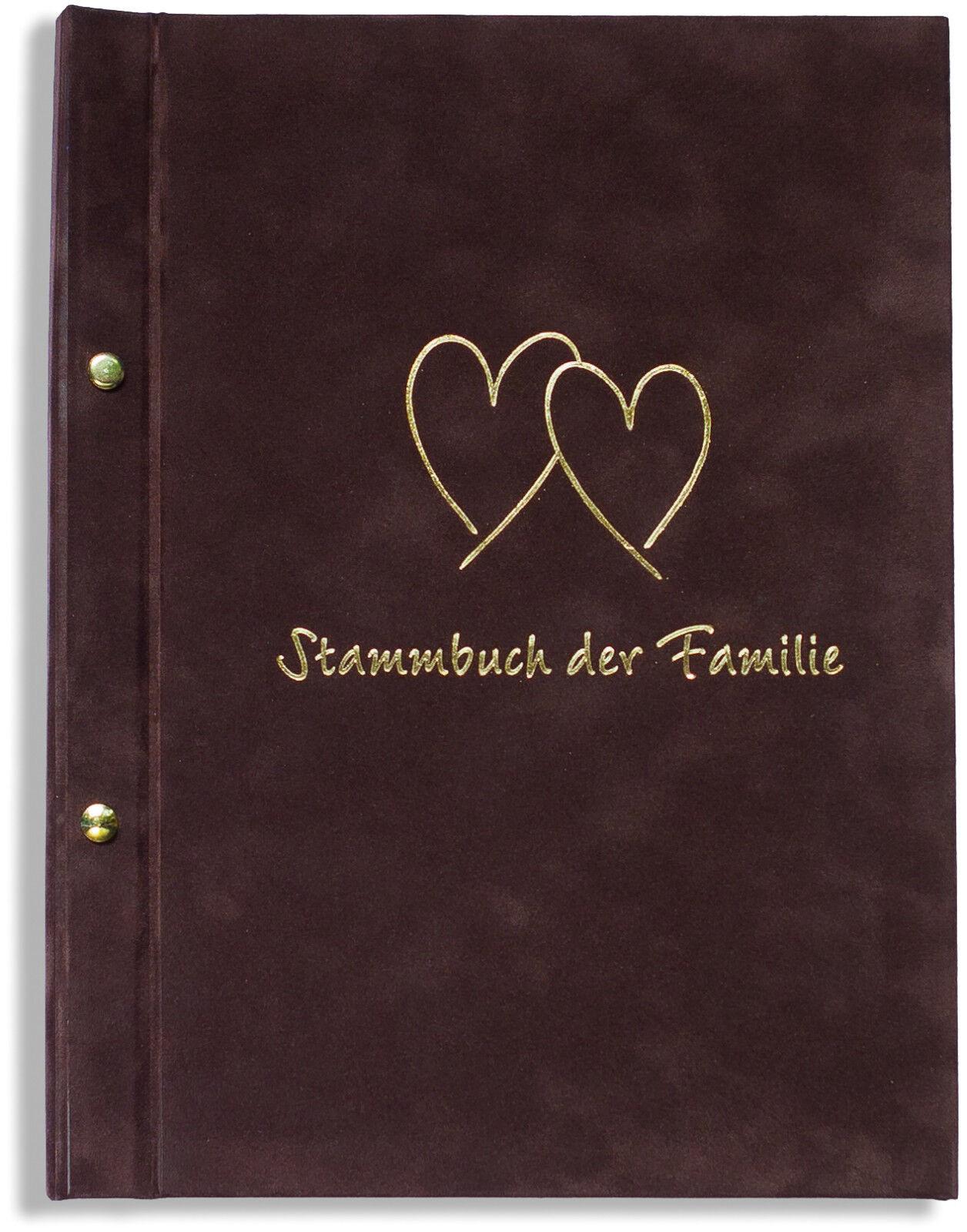A4 Stammbuch der Familie -Grandos-, braun, Familienstammbuch, Stammbücher Din A4 | Günstigstes  | Export  | Guter Markt