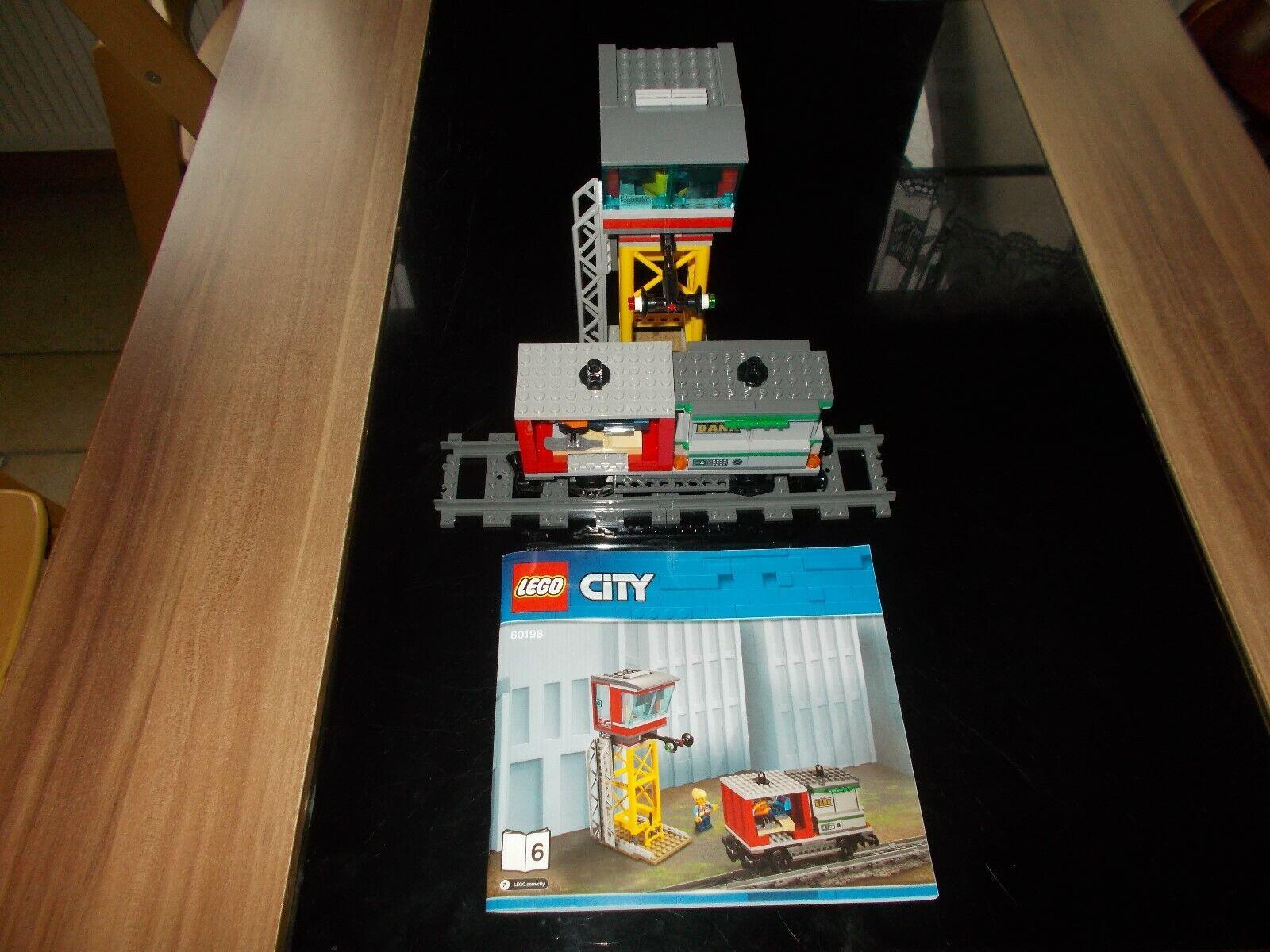 Lego® City Eisenbahn - aus 60198 - Set 1 2 6 - Stapler Auto Waggon - wie neu