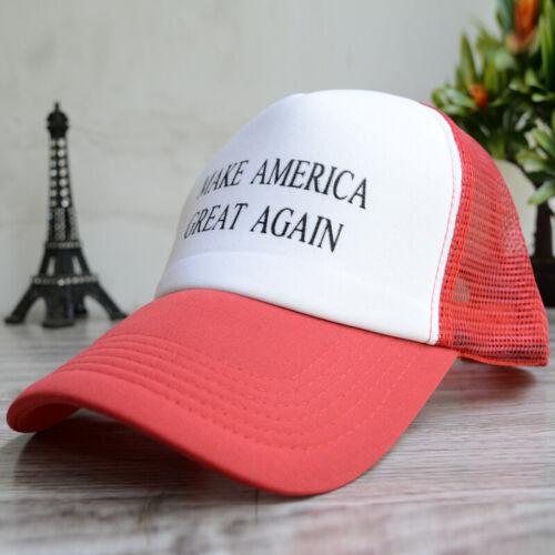 New Donald Trump 2020 Pence President Trucker Hat Snapback MAGA Mesh Summer Cap