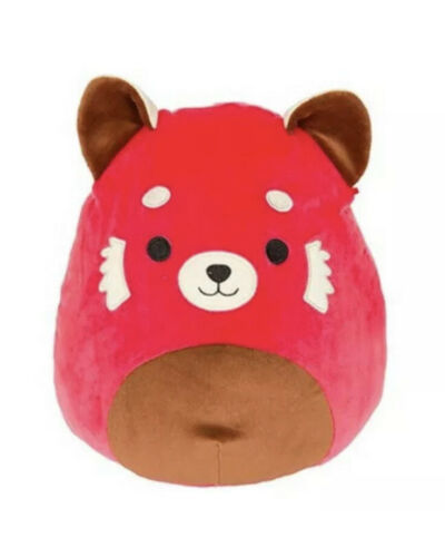 """Squishmallow Kellytoy Cici The Red Panda Raccoon 8"""" Super Soft Plush Toy"""