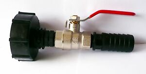 IBC-ADAPTER-2-S60-60mm-to-1-2-Brass-Ball-Valve-13-20-25mm-Hose-Tails