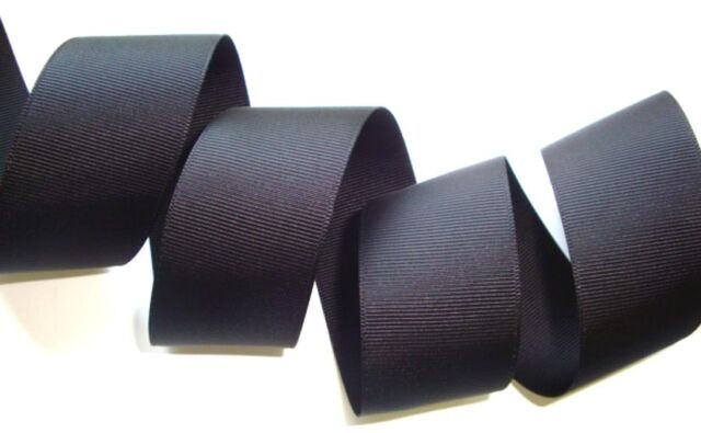 "3"" SOLID GROSGRAIN CHEER CHEERLEADER SPIRIT TEAM RIBBON 4 HAIRBOW BLACK 5YD"