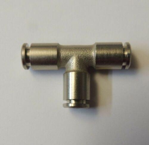 T-Steckanschluss 6 mm Druckluft Pneumatik