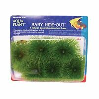Penn Plax Baby Hide-out Breading Grass For Aquarium Free Shipping