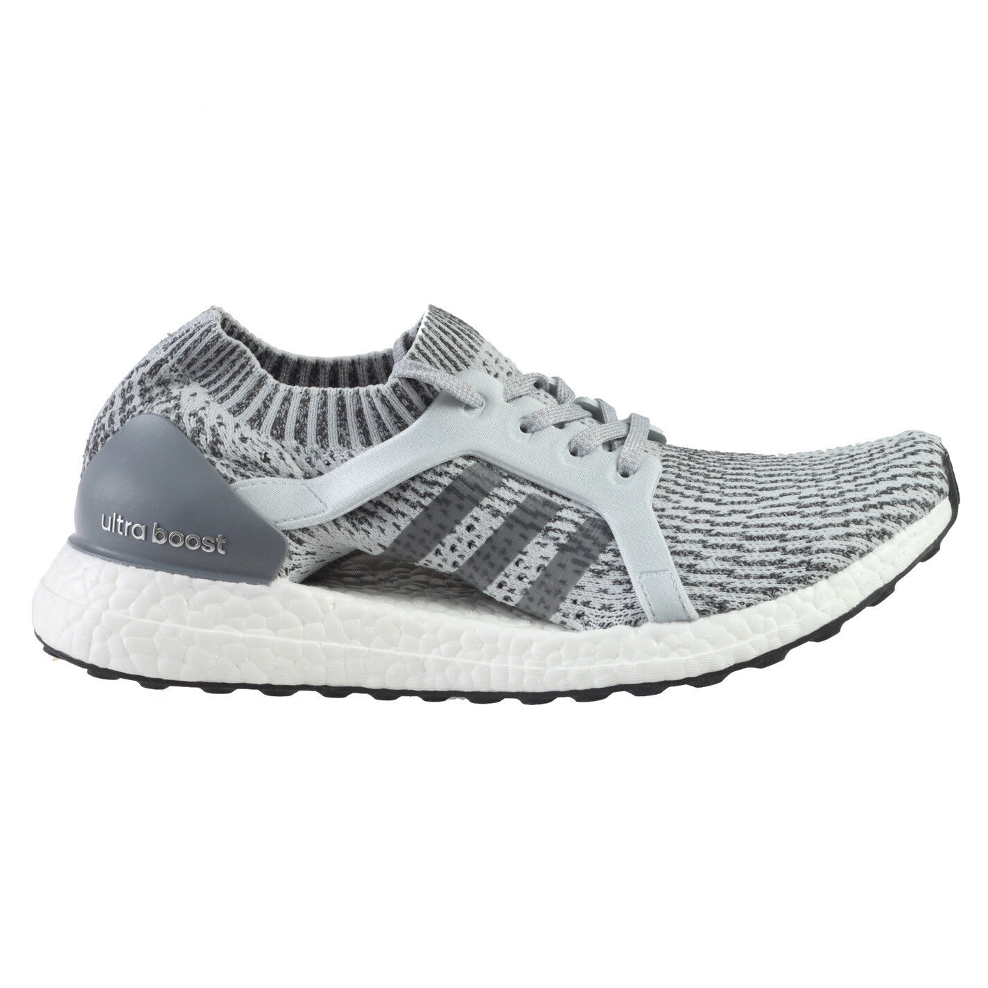 Adidas Ultra Boost X Womens BB1695 Clear Grey Primeknit Running Shoes Comfortable