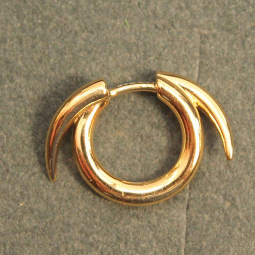 New but no box. Shaun Leane Single Yellow Gold Vermeil Thorned Hoop Earring