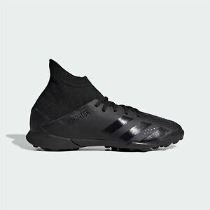 Adidas-Enfants-Garcons-Predator-20-3-Junior-Astro-Turf-Baskets-Football-Bottes-Lacets