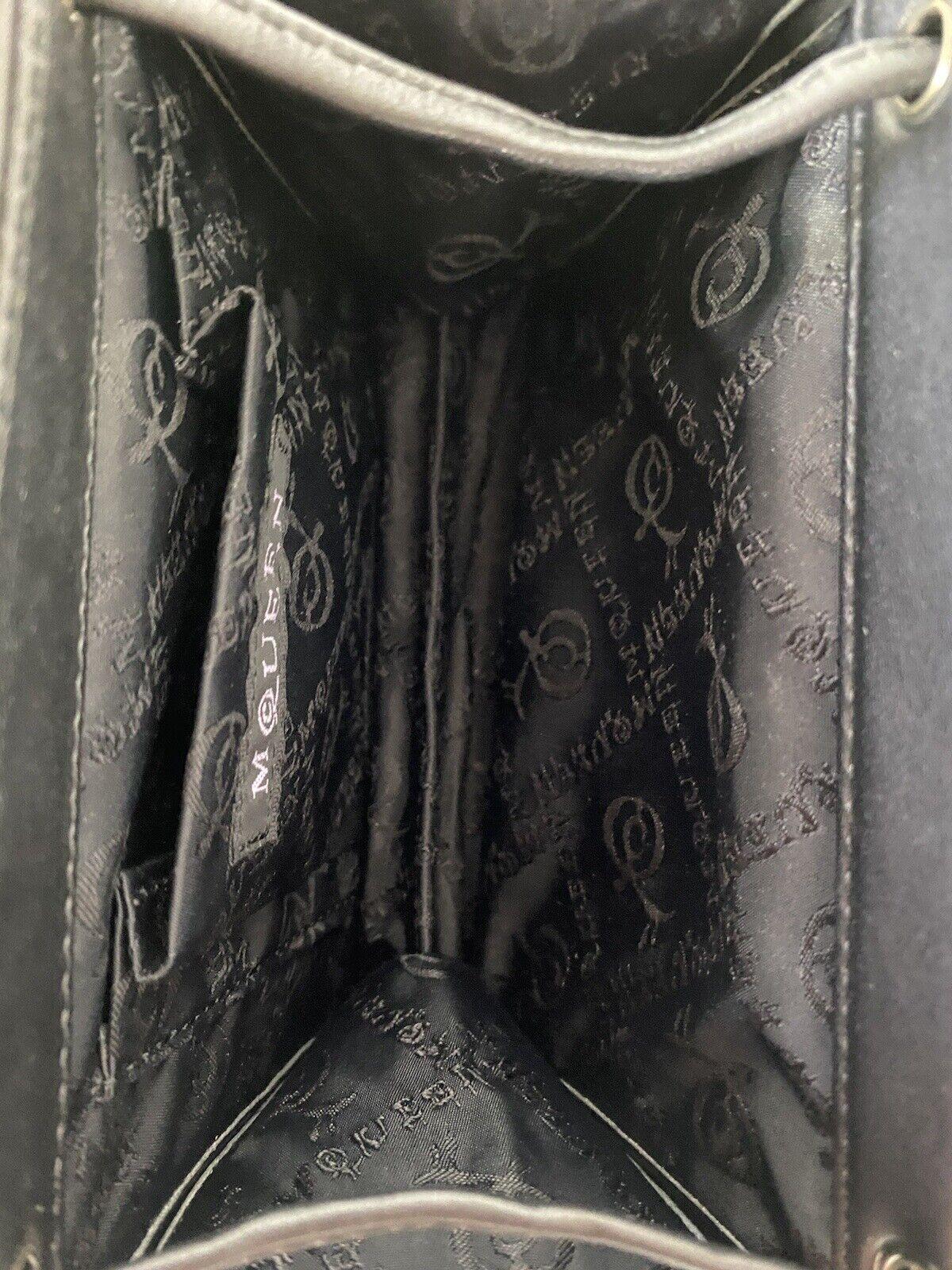 RARE VTG ALEXANDER McQUEEN 90s BLACK SNAKE BAG - image 7