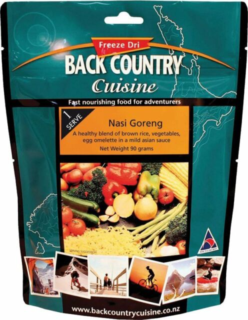 Back Country Cuisine Nasi Goreng 90g Freeze-Dried Meal (Gluten Free)