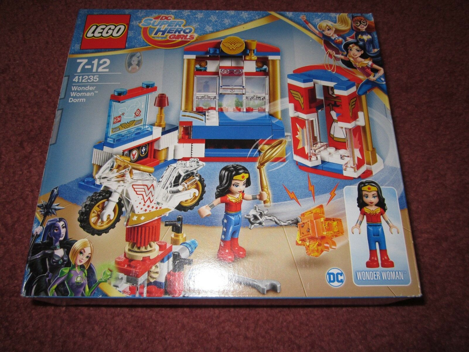 LEGO SUPER HERO GIRLS WONDER WOMAN DORM DORM DORM 41235 - NEW BOXED SEALED 18ee58