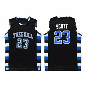 One tree hill nathan scott all stitched basketball jersey black image is loading one tree hill nathan scott all stitched basketball publicscrutiny Choice Image