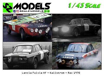 1//43 Rally Decal Lancia Fulvia Kallstrom Rally Race Spain 1969 Altaya Trofeu R43