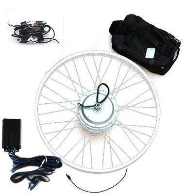 "Electric Bike/eBike Conversion Kit Front Hub Motor 16""/20""/24""/26""/28""(700C) Rim"