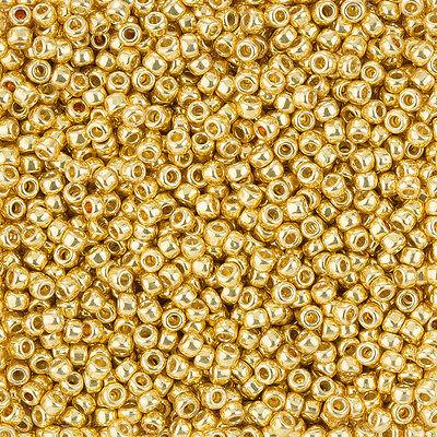 Q89//7 Toho Round Size 8//0 Seed Beads Galvanised Starlight 10g