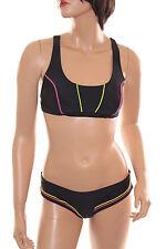 Arena Damen Bikini Sporty 2 Crossed Top , Bustier Badeanzug Schwimmanzug , 38