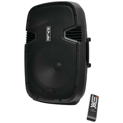 """PPHP152BMU 15/"""" 1000W Portable Bluetooth Speaker FM Radio With Microphone"""