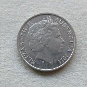 AUSTRALIAN-2011-10-CENT-COIN-LOW-MINTAGE-KEY-DATE