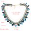 Ladies-Fashion-Crystal-Pendant-Choker-Chain-Statement-Chain-Bib-Necklace-Jewelry thumbnail 25