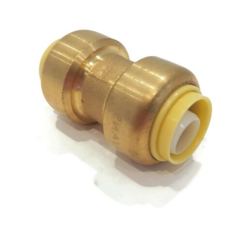 Lead Free Brass Pack of 50 1//2 inch x 1//2 inch Coupling Connect Fittings