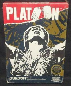 PLATOON - Nintendo NES Game BRAND NEW SEALED Authentic VGA WATA Grade it! 1988
