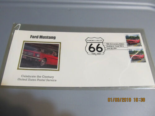 Ford Mustang USPS Diamond Jubilee 66 19262001 75th Anniversary Station Texas