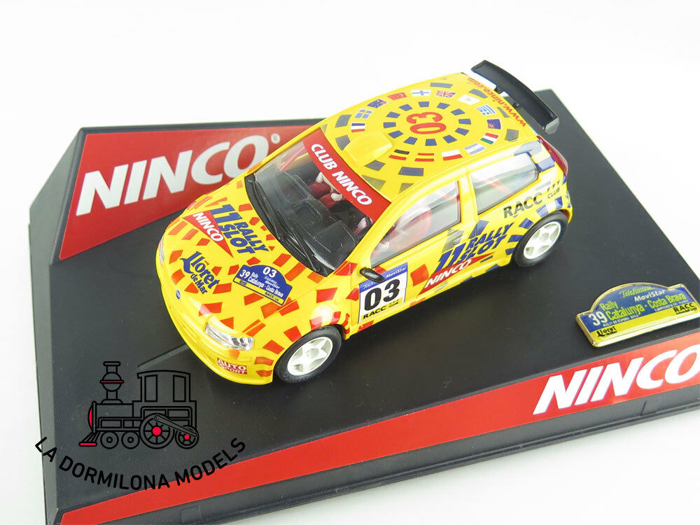 EDF262 SLOT SCALEXTRIC NINCO 50315 FIAT PUNTO Ed.Ltd. Catalunya Costa Brava 2003