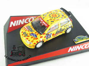 Edf262 Slot Scalextric Ninco 50315 Fiat Punto Ed.ltd. Catalunya Costa Brava 2003 Soulager Le Rhumatisme